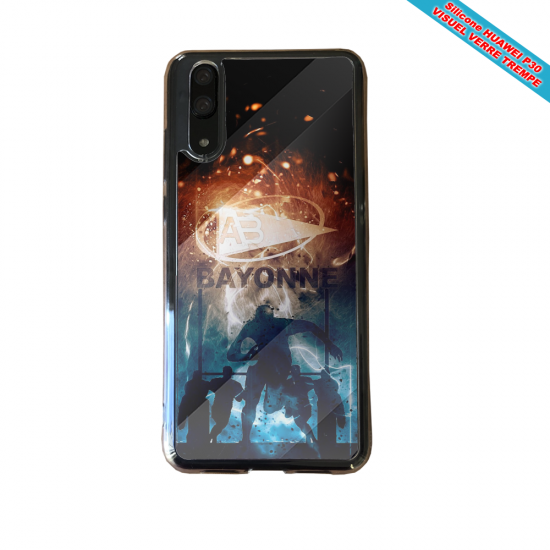 Coque silicone Iphone X/XS Flamant rose