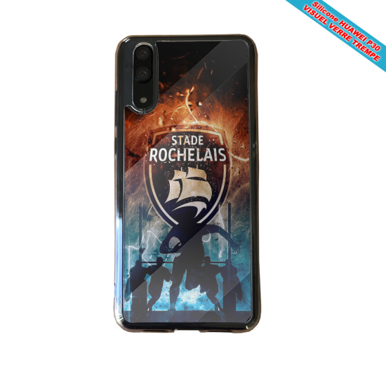 Coque silicone Iphone 6 PLUS Verre Trempé Flamant rose