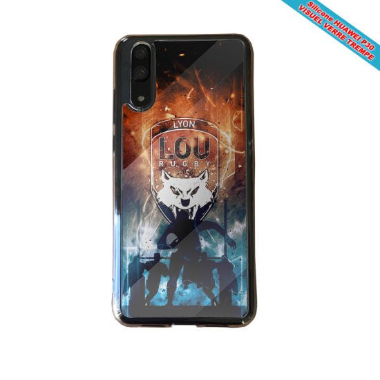 Coque silicone Iphone 6 PLUS Flamant rose