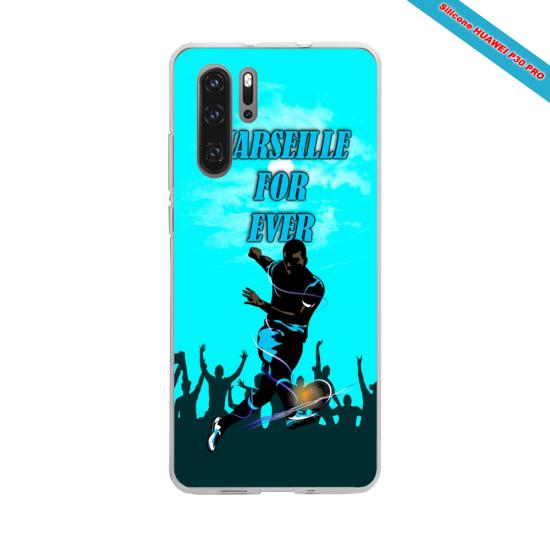 Coque silicone Galaxy J5 2017 Hibiscus bleu
