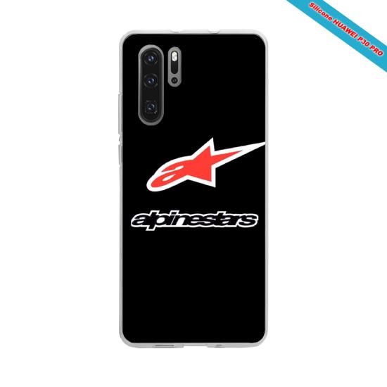 Coque silicone Galaxy J5 2016 Hibiscus bleu