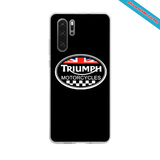 Coque silicone Iphone SE 2020 verre trempé Hibiscus bleu