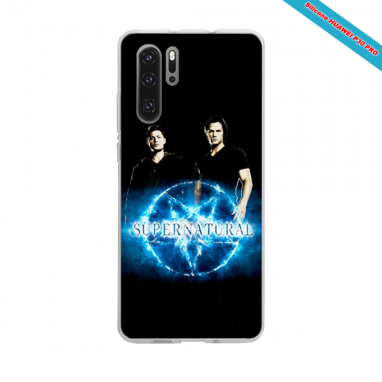 Coque silicone Iphone 6 PLUS Hibiscus bleu