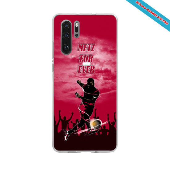 Coque silicone Iphone 6 PLUS Hibiscus rouge