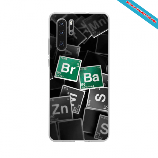 Coque silicone Iphone 6 PLUS Verre Trempé Hibiscus rouge