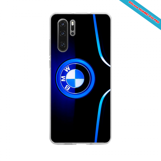 Coque Silicone iphone 7/8 Hibiscus rouge