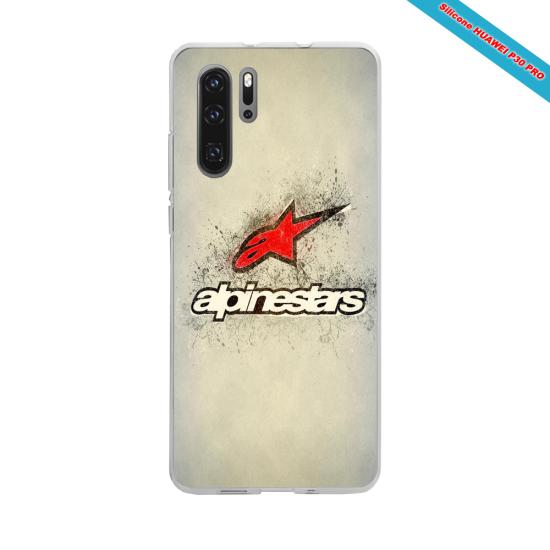 Coque Silicone iphone 7/8 PLUS Hibiscus rouge