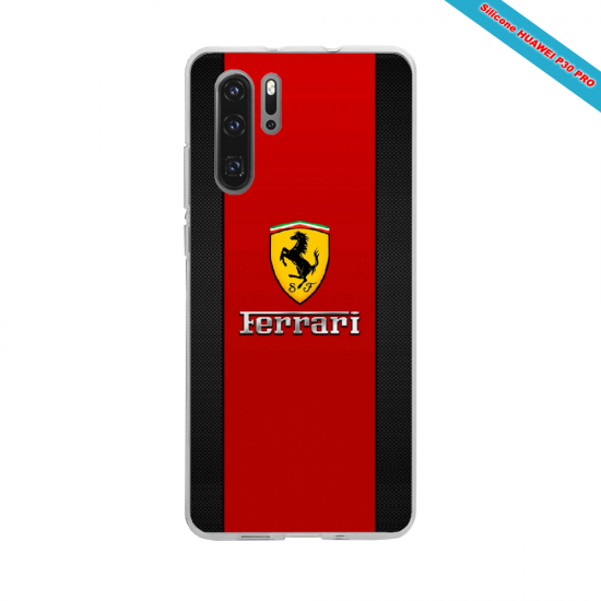 Coque silicone Iphone X/XS Hibiscus rouge