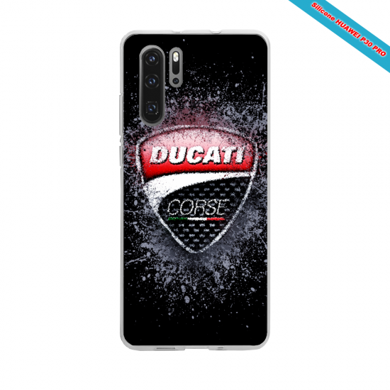 Coque silicone Iphone XS MAX Hibiscus rouge