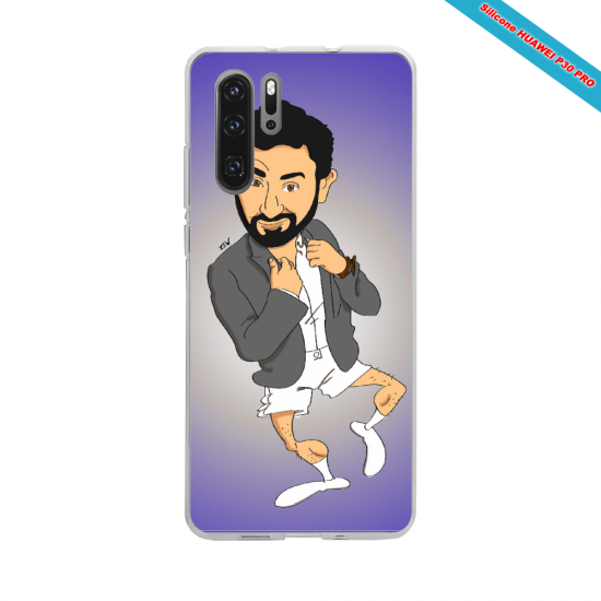 Coque silicone Galaxy J3 2017 Hibiscus rouge