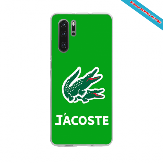 Coque silicone Galaxy J3 2018 Hibiscus rouge