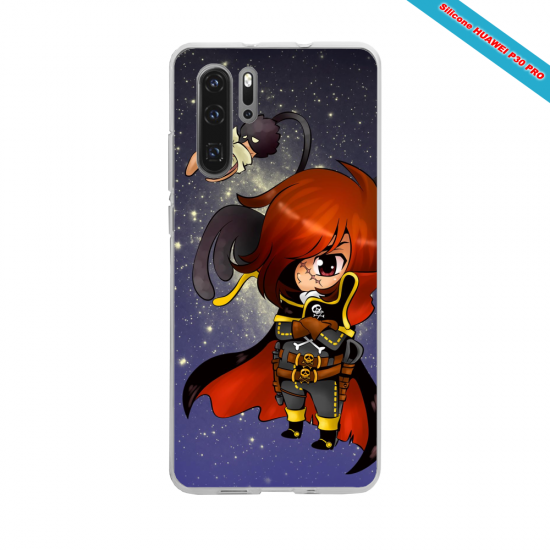 Coque silicone Galaxy J4 2018 Hibiscus rouge