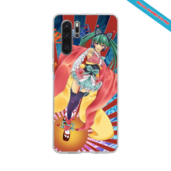 Coque silicone Galaxy J5 2016 Hibiscus rouge