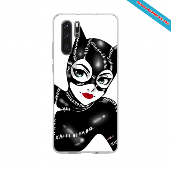 Coque silicone Galaxy J5 2017 Hibiscus rouge