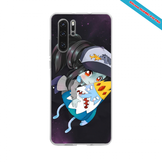 Coque silicone Galaxy J7 2016 Hibiscus rouge