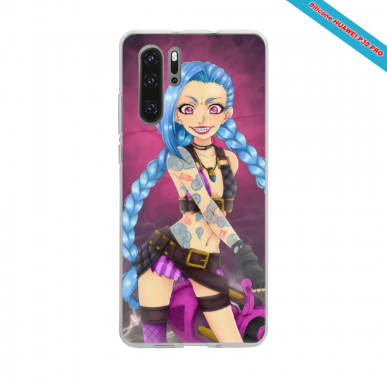 Coque Silicone Galaxy S6 EDGE Hibiscus rouge
