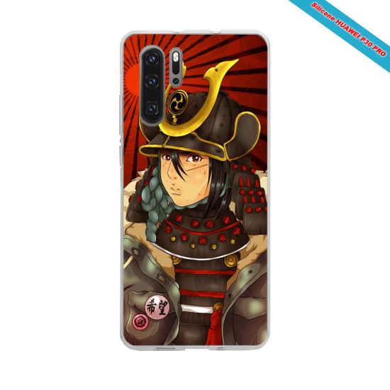 Coque Silicone Galaxy S7 EDGE Hibiscus rouge