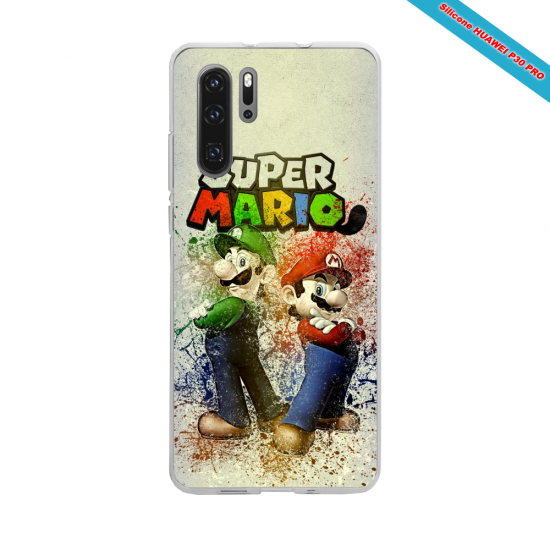 Coque Silicone Galaxy S20 ULTRA Hibiscus rouge