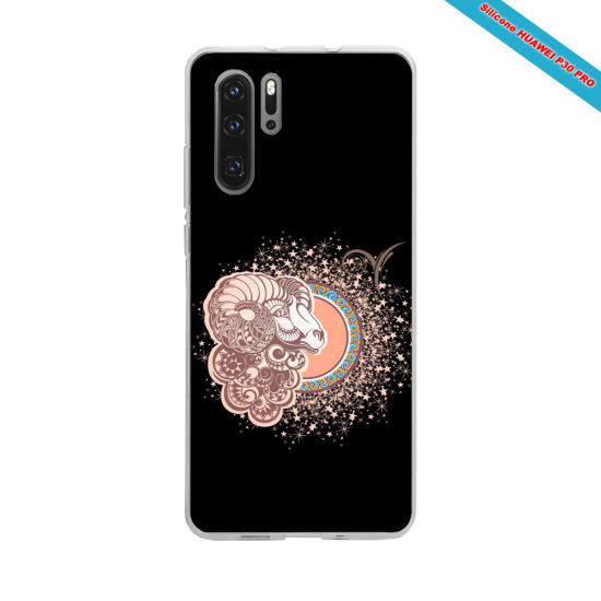 Coque silicone Huawei P9 Lite 2016 Hibiscus rouge