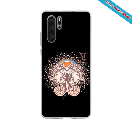 Coque silicone Huawei P10 Lite Hibiscus rouge