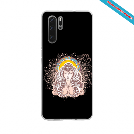 Coque silicone Huawei P20 LITE Hibiscus rouge
