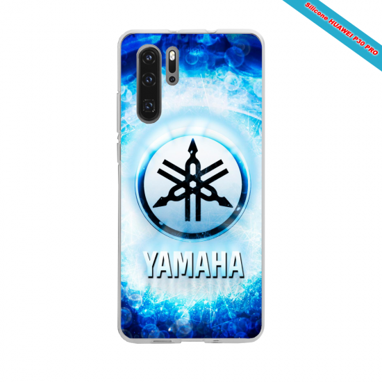 Coque silicone Huawei P30 LITE Hibiscus rouge
