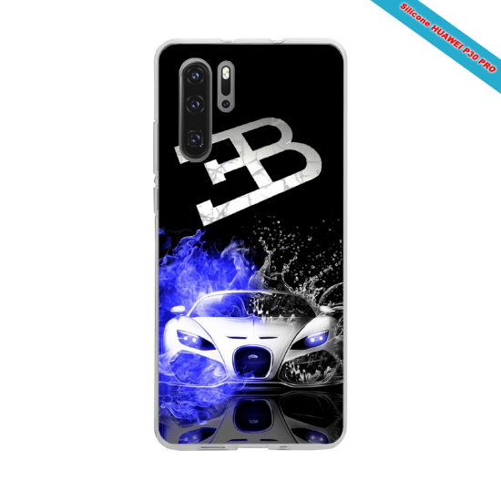 Coque silicone Huawei P30 PRO Hibiscus rouge