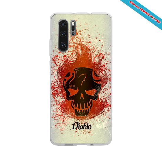Coque Silicone iphone 7/8 verre trempé Fan de The Rolling Stones géometrics