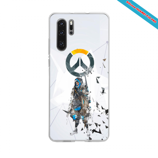 Coque Silicone Galaxy S9 PLUS verre trempé Fan de The Rolling Stones géometrics