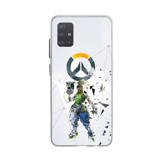 Coque silicone Huawei MATE 10 Fan d'Overwatch Zarya super hero