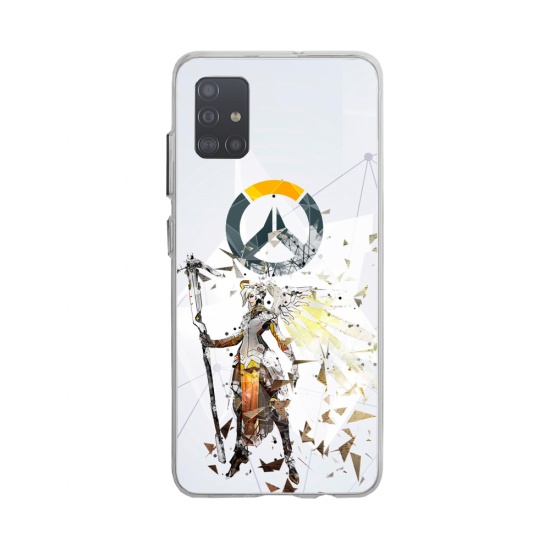 Coque silicone Huawei MATE 10 Fan d'Overwatch Winston super hero