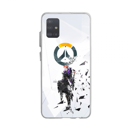 Coque silicone Huawei MATE 10 Fan d'Overwatch Tracer super hero