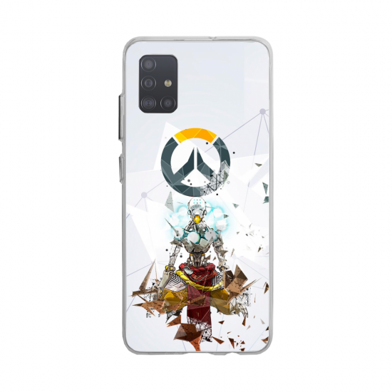 Coque silicone Huawei MATE 10 Fan d'Overwatch Torbjörn super hero