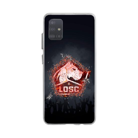 Coque silicone Huawei MATE 10 Fan d'Overwatch Reinhardt super hero