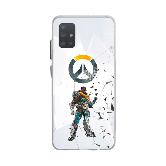 Coque silicone Huawei MATE 10 Fan d'Overwatch Pharah super hero