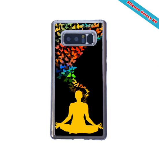 Coque silicone Huawei Mate 10 Hibiscus rouge