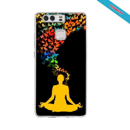 Coque silicone Huawei Mate 10 Flamant rose