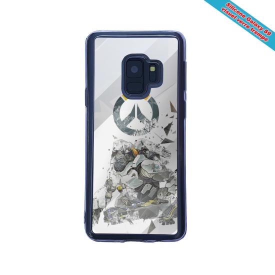 Coque silicone Iphone 12 Mini Fan de Ligue 1 Bordeaux graffiti