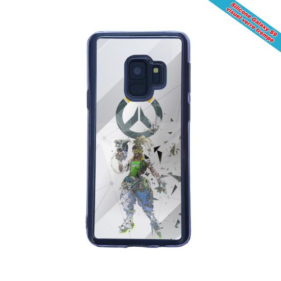Coque silicone Iphone 12 Mini Fan d'Overwatch Zenyatta super hero