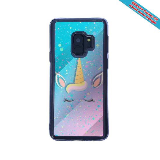 Coque silicone Iphone 12 Mini Fan de BMW version super héro