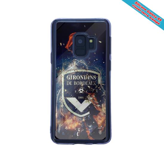 Coque silicone Iphone 12 Mini Fan d'Overwatch Ange super hero