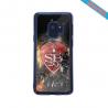 Coque silicone Iphone 12 Mini Fan d'Overwatch Sombra super hero
