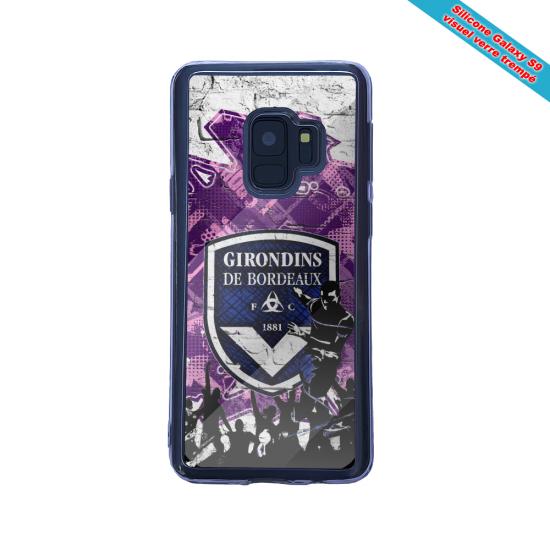 Coque silicone Iphone 12 Mini Flamant rose
