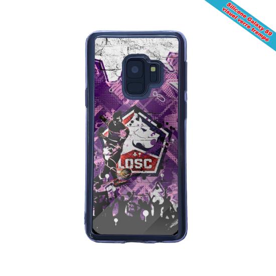 Coque silicone Iphone 12 Mini Fan d'Overwatch Genji super hero