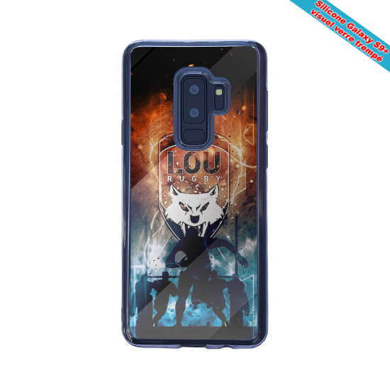 Coque silicone Iphone 12 Mini Fan d'Overwatch Chacal super hero