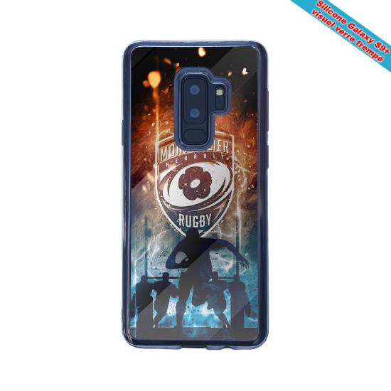 Coque silicone Iphone 12 Mini Fan d'Overwatch Brigitte super hero