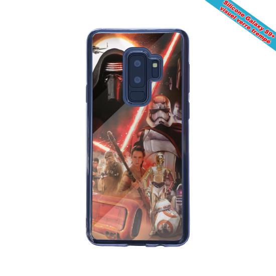 Coque silicone Iphone 12 Mini Fan de Ligue 1 St-Etienne cosmic