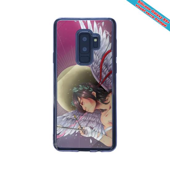Coque silicone Iphone 12 Mini Fan de Ligue 1 St-Etienne fury