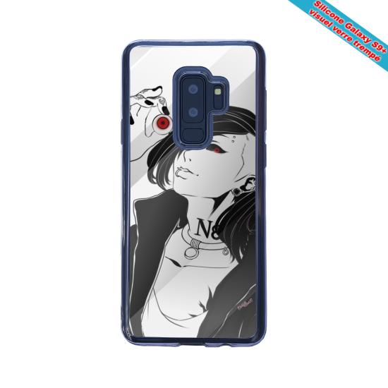 Coque silicone Iphone 12 Mini Fan de Ligue 1 Montpellier graffiti