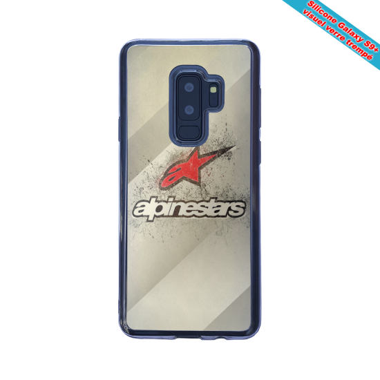 Coque silicone Iphone 12 Fan d'harley davidson geometric